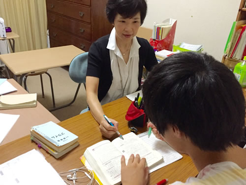 長尾美代 先生と伊丹市陽楽房教室の生徒さん
